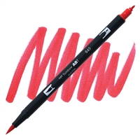 MARKER TOMBOW DUAL BRUSH 845 CARMINE RED TB56596