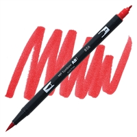 MARKER TOMBOW DUAL BRUSH 856 CHINA RED TB56600