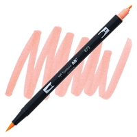 MARKER TOMBOW DUAL BRUSH 873 CORAL RED TB56601