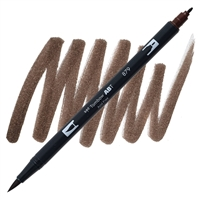 MARKER TOMBOW DUAL BRUSH 879 BROWN TB56602