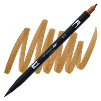 MARKER TOMBOW DUAL BRUSH 977 SADDLE BROWN TB56615