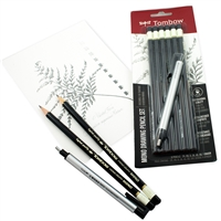 DRAWING PENCIL SET TOMBOW W MONO ZERO ERASER 7PC TB61002