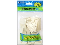 WOODSIES RECTANGLES 130CT LOEW CORNELL 1021189-disc