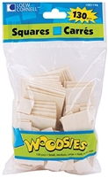 WOODSIES SQUARES 130CT LOEW CORNELL 1021194