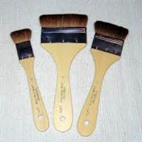 BRUSH L279 2-1/2 INCH BROWN BRISTLE