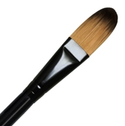 BRUSH 4950 MAJESTIC OVAL WASH 1/2 INCH RYR4950-1/2