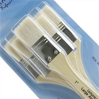 BRUSH SET LG AREA 3PK GOAT HAIR RYRART-100