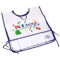APRON BIG KIDS ROYAL SMALL BK APRON