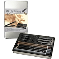 LIFE DRAWING SET TIN MED RSET-ART2301