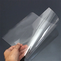 PVC SHEET CLEAR 7.6 x 11 inches Thickness 0.015 MI702-03