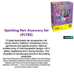 SPARKLING HAIR ACCESSORY SET 1782