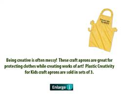 APRON CREATIVITY FOR KIDS1927-DISC