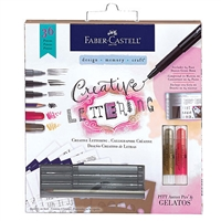 CREATIVE LETTERING KIT FABER CASTELL FC770407T
