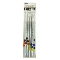 BRUSH SET LIQUITEX BASICS 4 LARGE LQ692003