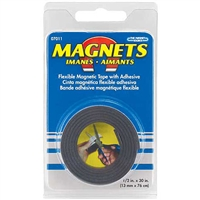 MAGNET TAPE ROLL 1/2 INX30 IN MN07011