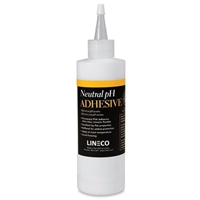 GLUE LINECO - WHITE NEURTAL PH ADHESIVE 4OZ LI901-1007