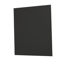 ILLUSTRATION BOARD 8 1/2 X 11  BLACK  #60 1mm 10110189