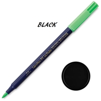 MARKER FABRICMATE BRUSH TIP BLACK YONFP200A