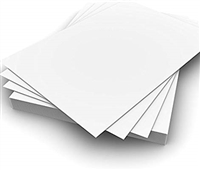 PAPER OPALINA 8.5x11 INCHES- 50 SHEET PACK - 104LBS 171177
