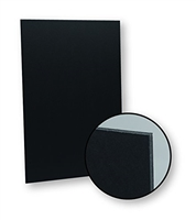 FOAMBOARD BLACK-BLACK 20X30 INCHES 5MM FLIPSIDE FL20308