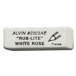 ERASER WHITE ROSE RUBBER 2303AE
