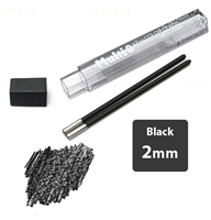 LEAD 2mm BLACK PENTEL EACH 2pcs CH2-AO