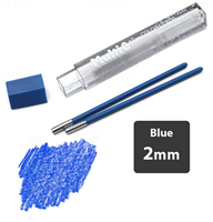 LEAD 2mm DARK BLUE PENTEL 2pcs CH2-CO