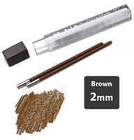 LEAD 2mm BROWN PENTEL 2pcs CH2-EO