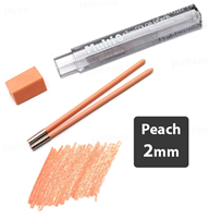 LEAD 2mm PEACH PENTEL 2pcs CH2-HO