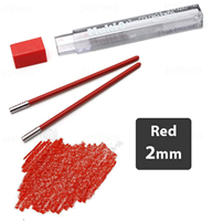 LEAD 2mm RED PENTEL 2pcs CH2-BO