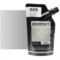 ABSTRACT ACRYLIC SENNELIER 120ML IRIDESCENT SILVER SV121121029
