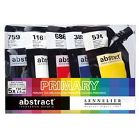 ABSTRACT ACRYLIC SET - PRIMARY 5/COLORS SV1012182000