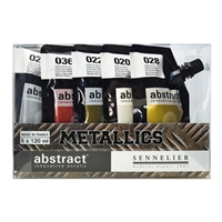 ABSTRACT ACRYLIC SET - METALLICS 5/COLORS SV1012182200