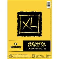 XL BRISTOL PAD SMOOTH 9X12  CN400061834