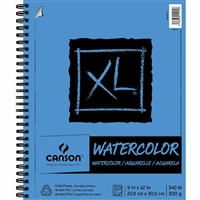 XL WATERCOLOR PAD SIDE WIRE BOUND 30SH 9X12  CN400068375
