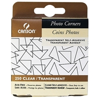PHOTO CORNERS CLR ADH 250/Pk CN100510368
