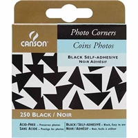 PHOTO CORNER SELF-ADHESIVE BLACK 252/SH CN100510395