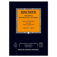WC PAPER ARCHES PAD 140 LB ROUGH 11.7x16.5 inches AP1795104
