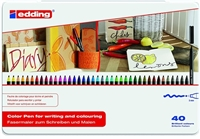EDDING 1300 FIBER PEN SET 40 COLORS ED1300-40