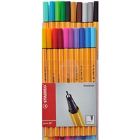 MARKER SET STABILO 88 20CT WALLET SW8820
