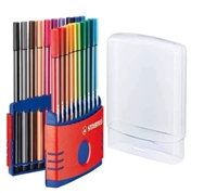 MARKER SET STABILO 68 20CT DESK SET 6820-03