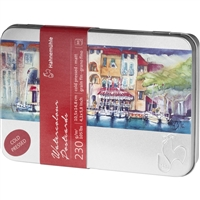 HAHNEMUEHLE WATERCOLOR PAPER POST CARD TIN 30PCK - HA10650150