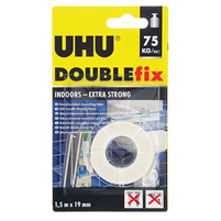 TAPE DOUBLE SIDED 1,5 m X 19mm EXTRA STRONG UHU 46855