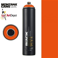 SPRAY MONTANA BLACK NC 600ML HALLOWEEN MXB600-2085