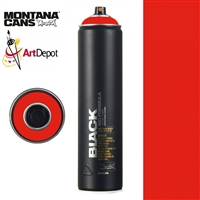 SPRAY MONTANA BLACK NC 600ML POWER RED MXB600-P3000