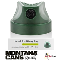 CAPS GRN LEVEL 3 SKINNY MXGLDCAP-23