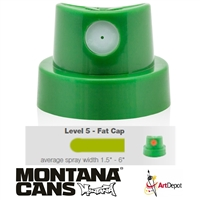 CAPS GRN LEVEL 5 FAT MXGLDCAP-25