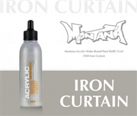 ACRYLIC MONTANA REFILL 25ML IRON CURTAIN MXA323744