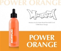 ACRYLIC MONTANA REFILL 25ML POWER ORANGE MXA346453