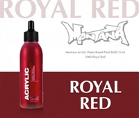 ACRYLIC MONTANA REFILL 25ML ROYAL RED MXA346491